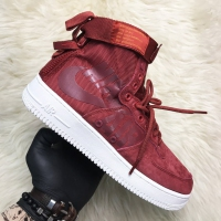 Nike Air Force Special Field Bordo - Мужские Кроссовки