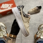 Nike Air Force Low Sage Platform Beige - Женские Кроссовки