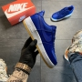 Nike Air Force Blue White - Женские Кроссовки