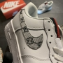 Nike Air Force Low White GG Custom- Женские Кроссовки