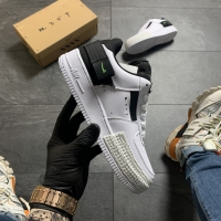 Nike Air Force Shadow White Black - Женские Кроссовки