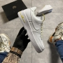 Nike Air Force 1 Swoosh Chain Pack White - Женские Кроссовки