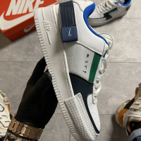 Nike Air Force 1 Type White Obsidian - Мужские Кроссовки