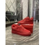 Nike Air Force 1 Low Red Black Stars - Мужские Кроссовки