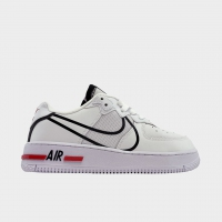 Nike Air Force 1 Low White Black (Белый) - Женские Кроссовки