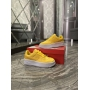 Nike Air Force 1 Low Yellow White - Женские Кроссовки