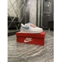 Nike Air Force 1 Low White Blue - Женские Кроссовки
