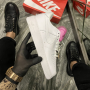 Nike Air Force 1 LX White Lace Pink - Женские Кроссовки