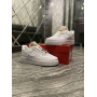 Nike Air Force 1 Low White Beige - Женские Кроссовки