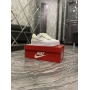 Nike Air Force 1 Shadow White Green - Женские Кроссовки
