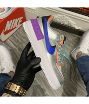 Nike Air Force 1 Low Shadow Silver - Женские Кроссовки