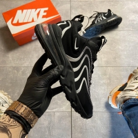 Nike Air Max 270 React Eng Black White - Мужские Кроссовки