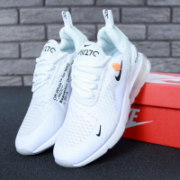 Nike Air Max 270 Off-White Белые - Мужские кроссовки