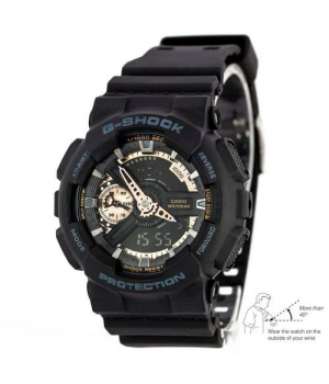 Casio G-Shock AAA GA 110 Black-Сuprum Autolight