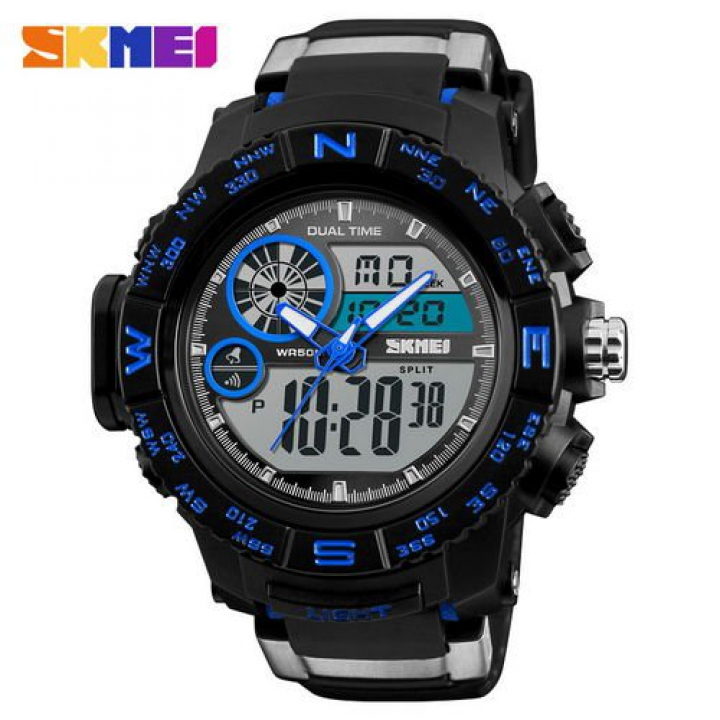 Skmei 1332 Black-Blue