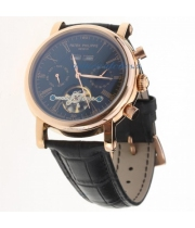 Patek Philippe Geneve Tourbillon Gold/Black