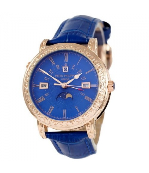 Patek Philippe Grand Complications 5160 Sky Moon Blue-Gold-Blue