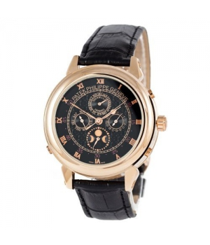 Patek Philippe Grand Complications 5002 Sky Moon Black-Gold-Black
