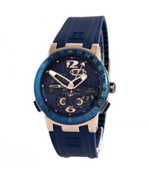 Ulysse Nardin Executive El Toro GMT Perpetual Blue-Gold-Blue