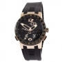 Ulysse Nardin Executive El Toro GMT Perpetual Black-Gold-Black