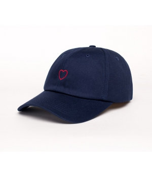 КЕПКА DAD HAT HEART NVY