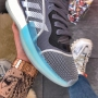 Adias Marquee Boost Grey Blue Red