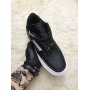 Nike Air Force 1 Type Black White - Женские кроссовки