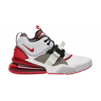 Nike Air Force 270 White Red.