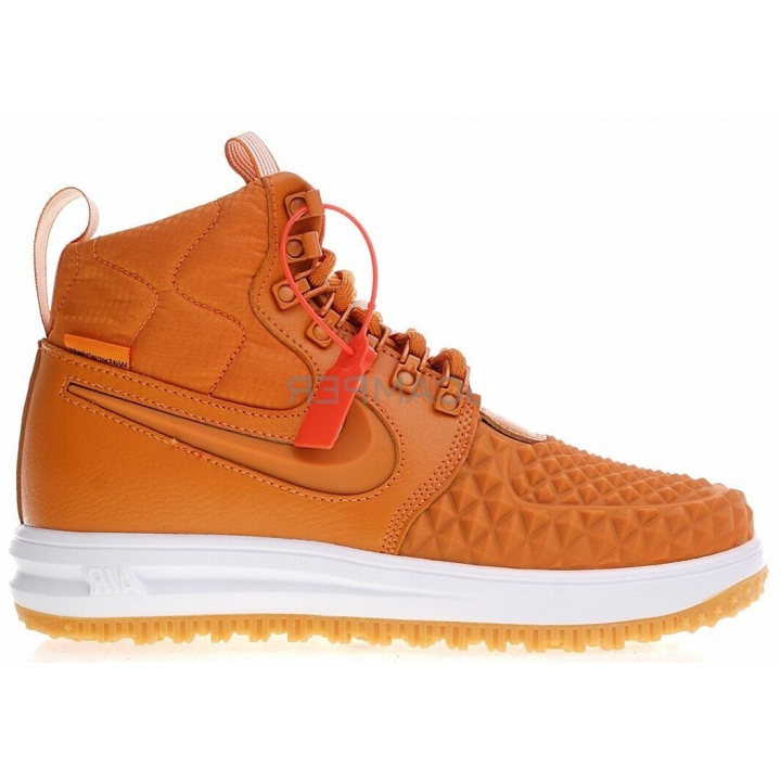 Nike Lunar Force 1 Duckboot 17 Orange